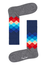 Happy Socks Faded Diamond Sock FAD01-9007-402