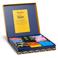 Happy Socks Limited Edition The Beatles LP Collector's Box 6-pack
