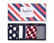 Happy Socks Unisex Stripe Socks Gift Box