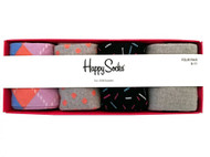 Happy Socks  Colorful and Fun Patterned Cotton Dress Socks in Gift Box