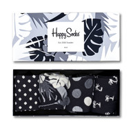 Happy Socks Unisex Black & White Gift Box