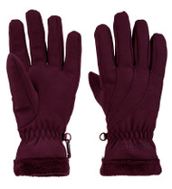 Marmot Women's Fuzzy Wuzzy Glove #14790 Dark Purple Pourpre Fonce