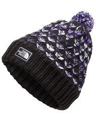 The North Face Girls Chunky Pom Beanie #NF0A354K7QQ