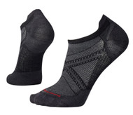 Smartwool Men's PhD Run Ultra Light Micro Socks - Black/Black