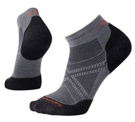 Smartwool Men's PhD Run Light Elite Low Cut Socks - Graphite