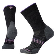 Smartwool Women's PhD Outdoor Light Crew Socks - Charcoal