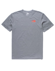 The North Face Red Box Heather Gray Mens T-Shirt #NF00CA0FAKT
