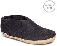 Glerups Shoe Slipper Model A Charcoal