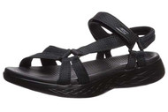 Skechers Women's On-The-go 600-Brilliancy Sport Sandal #15316 Black