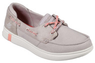 Skechers Women's Glide Ultra-Playa Boat Shoe #16110 Natural