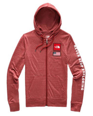 The North Face Women's  Americana Tri-Blend Full Zip Hoodie #NF0A3WTYHJK
