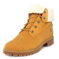 Timberland Women's Jayne Waterproof Teddy Fleece Fold Down Fashion Boot #A1SGA