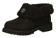 Timberland Kids' Icon Collection Roll-top with Fleece Fashion Boot #43760