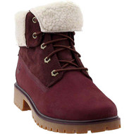 Timberland Women's Jayne Waterproof Teddy Fleece Fold Down Fashion Boot #A1SGJ