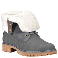 Timberland Women's Jayne Waterproof Teddy Fleece Fold Down Fashion Boot #A1SGI