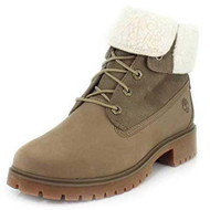 Timberland Women's Jayne Waterproof Teddy Fleece Fold Down Fashion Boot #A1SGB