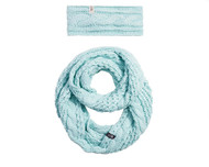 The North Face Cable Ear gear & Scarf Box Set #NF0A356D16E Origin Blue
