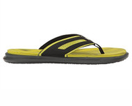 The North Face Men's Base Camp Plus Flip-Flops #NF0A2UXLC5W TNF Black/Sulphur Spring Green