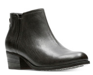 Clarks Artisan Women's Maypearl Ramie Ankle Booties Black Leather