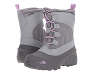 YOUTH ALPENGLOW IV #NF0A2T5PTRQ Q-SILVER GREY/LUPINE