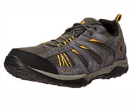 Columbia Men's North Plains Drifter Hiking Shoe #BM6011-030 Charcoal/Golden Yellow