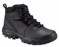 Columbia Men's Newton Ridge Plus II Wide Hiking Boot #BI3970-011 Black/Black