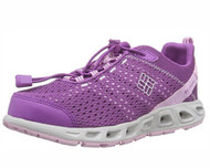 Columbia YOUTH DRAINMAKER III Water Shoe # BY3215-581 Razzle/Pink Clover