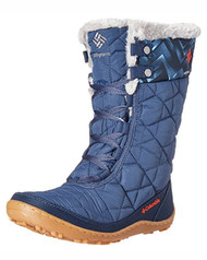 Columbia Women's Minx Mid II Omni-Heat Print Snow Boot #BL1626-478
