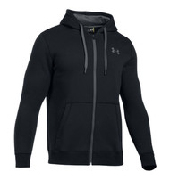 Under Armour Men's Rival Fitted Full-Zip Hoodie #1302290-001