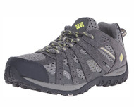 Columbia Women's Redmond Breeze Trail Shoe #BL6014-060 Light Grey/Sunnyside