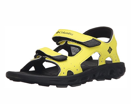 Columbia Youth Techsun Vent 3 Strap Water Sandal #BY4566-726 Zour/Black