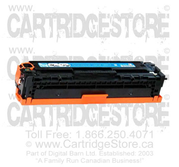 Compatible CE321A Toner for Laserjet HP CM-1415FNW, CP1525NW Printers