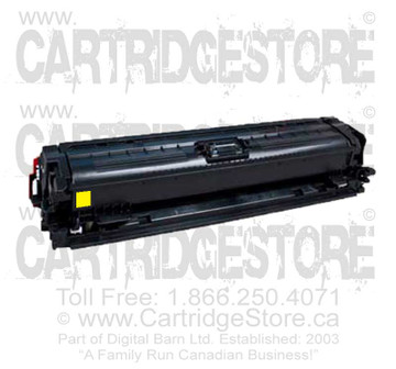 Compatible CE742A Toner for Laserjet HP CP5225, CP5225DN, CP5225N Printers