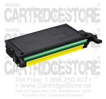 Compatible Samsung CLP-Y600A Toner Cartridge