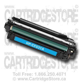 HP 646A Cyan Toner Cartridge CF031A