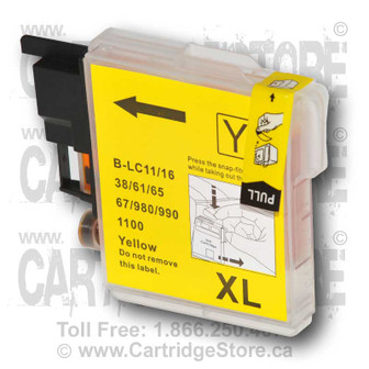 Brother LC61 Yellow Ink Cartridge