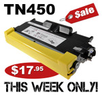 Compatible Brother TN450 Toner Cartridge