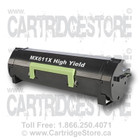 High Yield Lexmark MX611X Remanufactured Toner Cartridge
