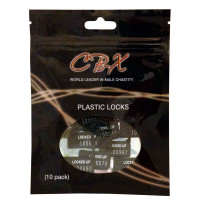 Chastity Plastic Locks (10) Pack - Package
