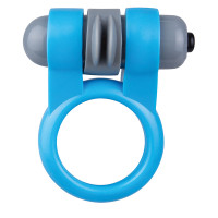 Blue Screaming O Sport Vibrating Ring