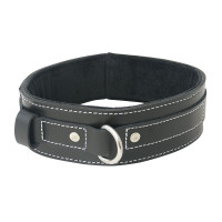 Sportsheets Edge Lined Leather Collar