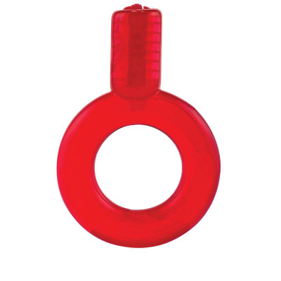 Red GO Vibe Ring - Front