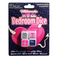 Ultimate Roll Bedroom Dice - Package