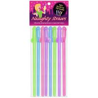 Glow-In-The-Dark Naughty Straws