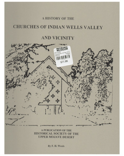 History of the Churches of the Indian Wells Valley