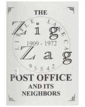 The Zig Zag Post Office and Its Neighbors  by Jane A. Thomann     In this informal publication, the Historical Society of the Upper Mojave Desert has compiled a manuscript create by a former Postmaster of Little Lake, California. The book tells the story of this small, remote post office as it zig-zagged back and forth across the road (hence the name). Colorful stories about early families of the area and abundant photographs are included. 115 pages.