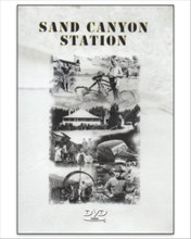 "Sand Canyon Station DVD  ""Sand Canyon, located on the eastern side of the Sierra Nevada, was a crucial ink in the 20th Century's most difficult engineering feats-construction of the California Aqueduct. When it was completed in 1913, the ""Big Ditch"" as it was often called, was the longest aqueduct in the Western Hemisphere.""  ""San Canyon Station offers a fascinating glimpse into the past as told by Henry Schuette, whose father worked with William Mulholland in building the aqueduct, and Lois Ramsey Carr, Robert Ramsey and Litha Crowell Mattis whose fathers were aqueduct patrolmen in the 1930s and 1940s.""  ""Using historic aqueduct footage, rare family photos, archival material, and original photography,  Sand Canyon Station allows you to peak into the past."" 37 minutes."