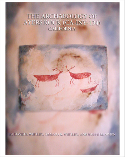 Archaeology  of  Ayers  Rock, by  David  S.  Whitley,  Tamara  K. Whitley,  and  Joseph  M.  Simon.    This scholarly  report  makes  available the  results  of  investigations  into significant  aspects  of  the prehistory  of  the  Coso  region.  Includes  photos and  diagrams.  243  papes.