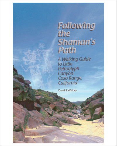 Following the Shaman's Path: A Walking Guide to Little Petroglyph Canyon, Coso Range, California, by David S. Whitley. Tourists and students alike will find this book useful. It answers questions often asked about Native American rock art, offers a key to the artwork lining the canyon's walls, an gives the latest thoughts on the significance of these priceless relics. 67 pages. 67 pages including rock art photos, maps with marker points, table of contents, index and Further Reading lists.