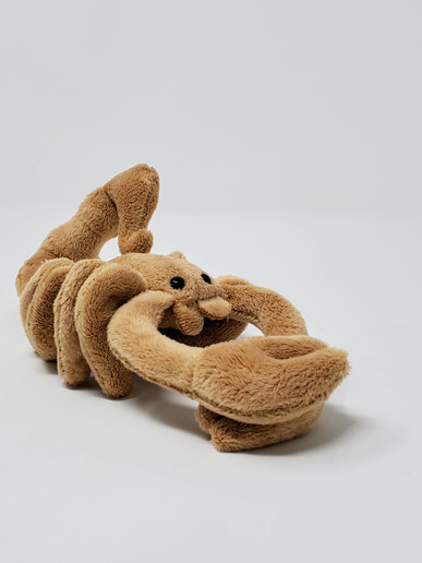Scorpion is 11 inches long Surface washable Recommended for ages 3 and above